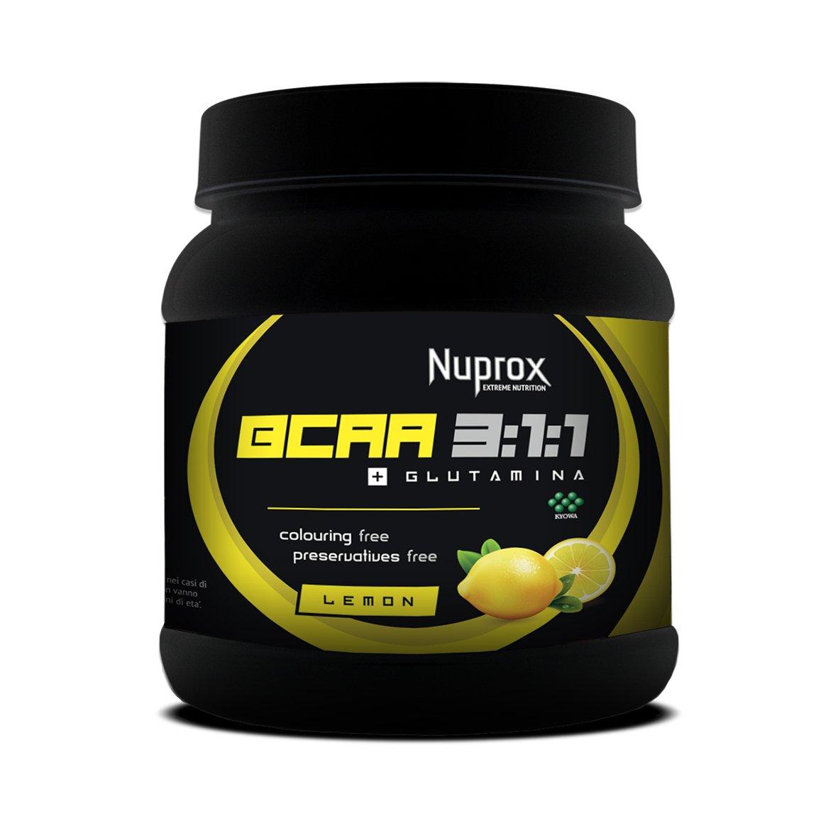 BCAA 3-1-1 + Glutamina 500 g_LIMON