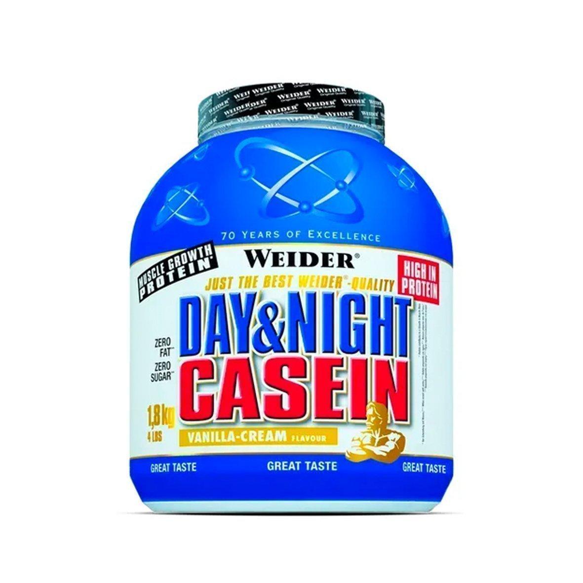 Weider Day & Night 100% Casein 1,8 kg