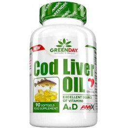 Amix GreenDay Cod Liver Oil 90 caps