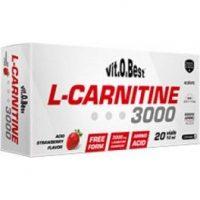 VitOBest L-Carnitina 3000 mg 20 viales x 10 ml