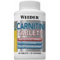 Weider L-Carnitina Tablets 60 tabs