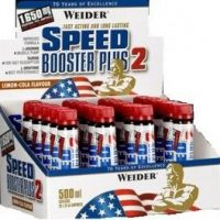 Weider Speed Booster Plus 2 - 20 ampollas x 25 ml