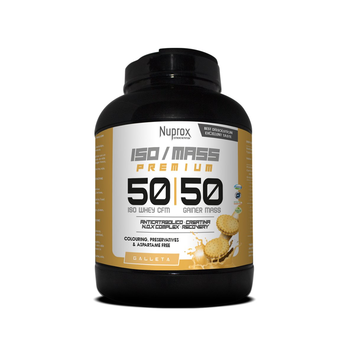 ISO MASS 50:50_1KG_BISCUIT